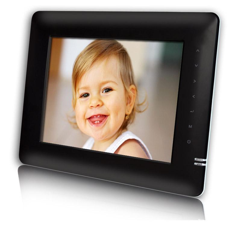 20 32cm 8 digitaler bilderrahmen mit akku bilder video musik in einem neu ebay. Black Bedroom Furniture Sets. Home Design Ideas