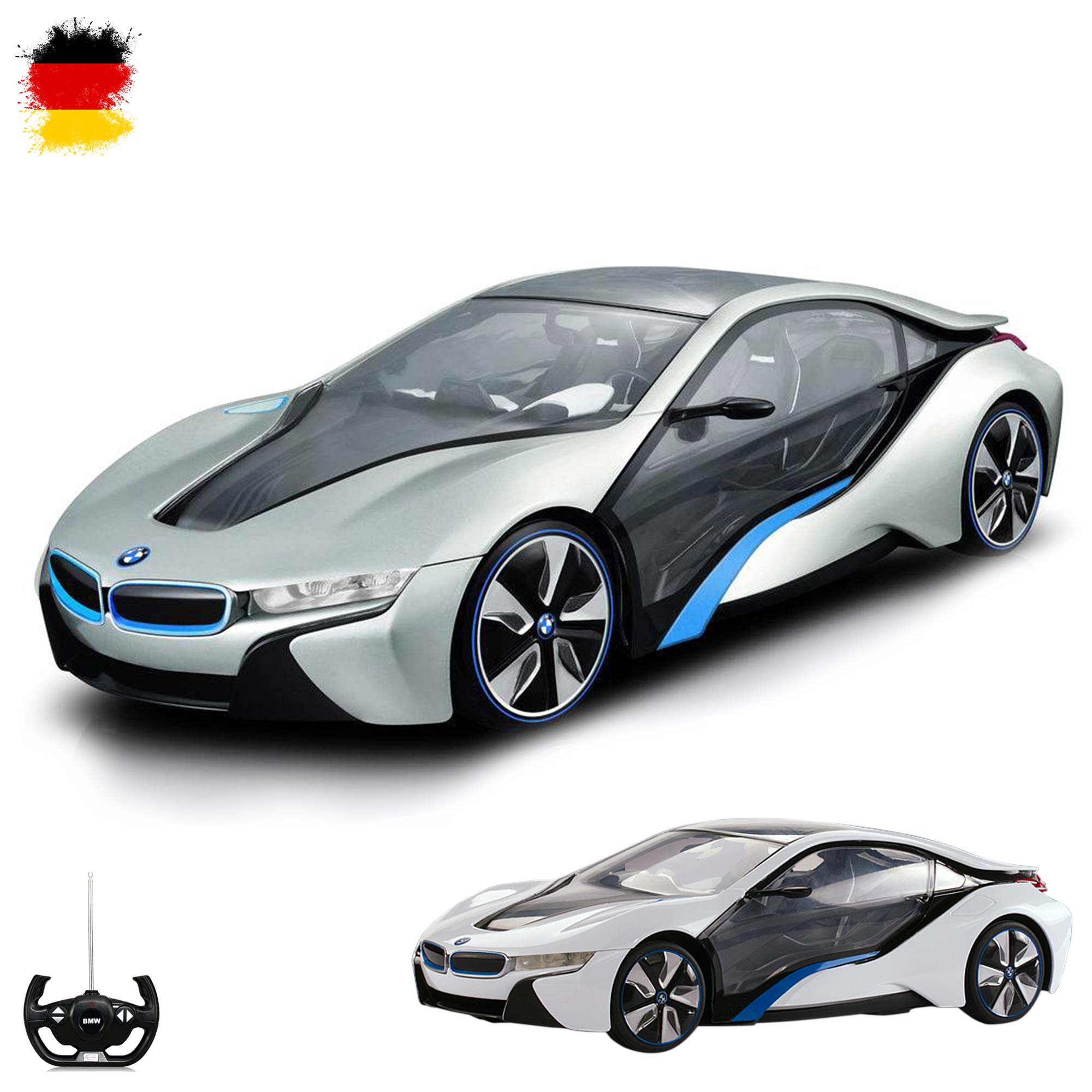 original bmw i8 vision concept car rc ferngesteuertes auto. Black Bedroom Furniture Sets. Home Design Ideas