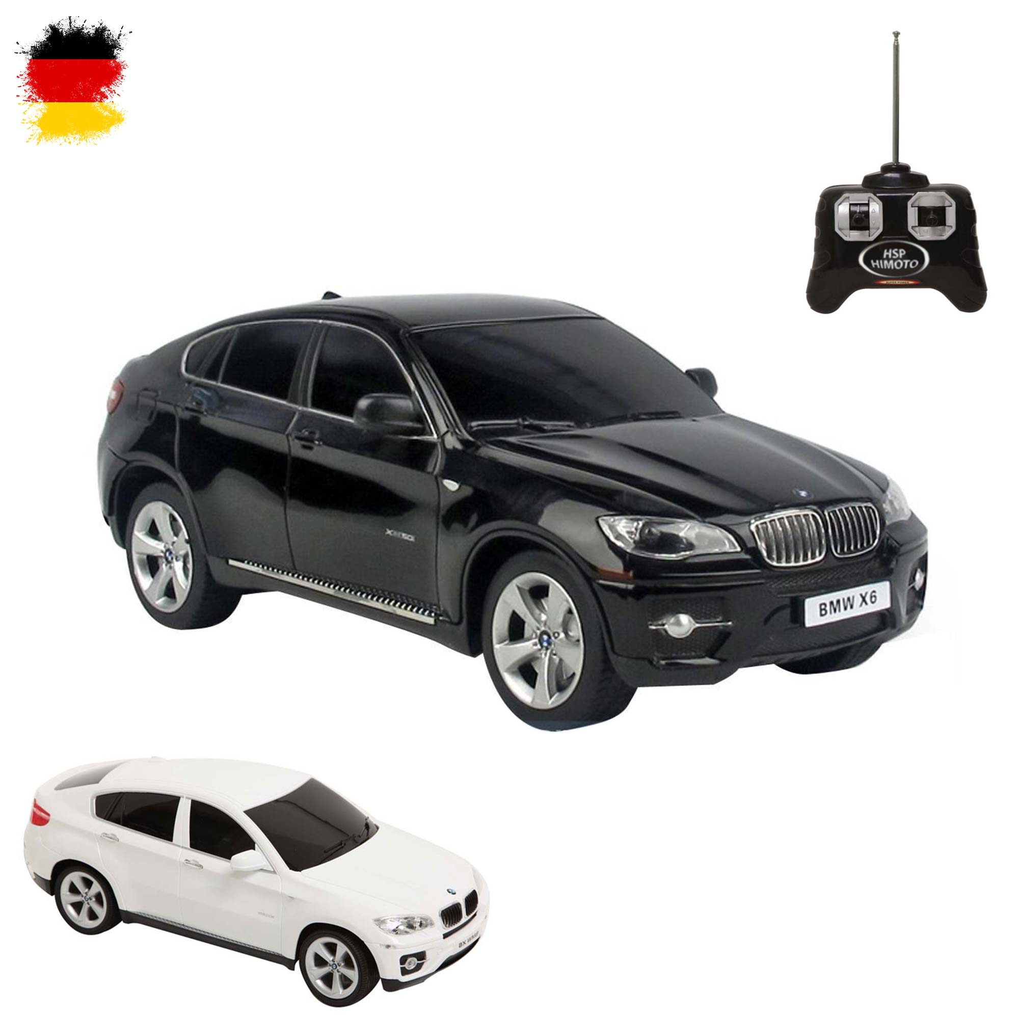 original bmw x6 rc ferngesteuertes auto lizenz fahrzeug. Black Bedroom Furniture Sets. Home Design Ideas