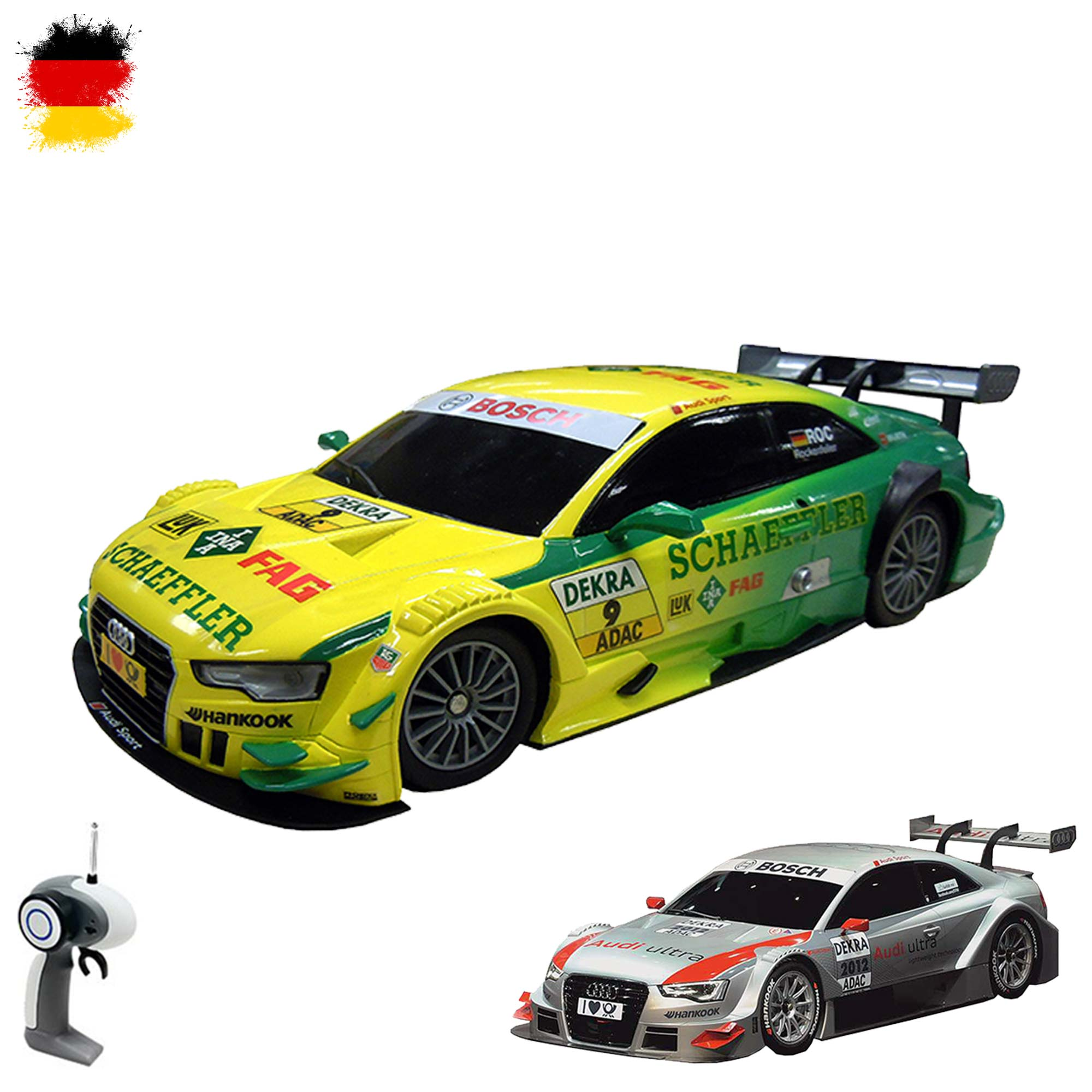 original audi a5 dtm edition rc ferngesteuertes lizenz. Black Bedroom Furniture Sets. Home Design Ideas