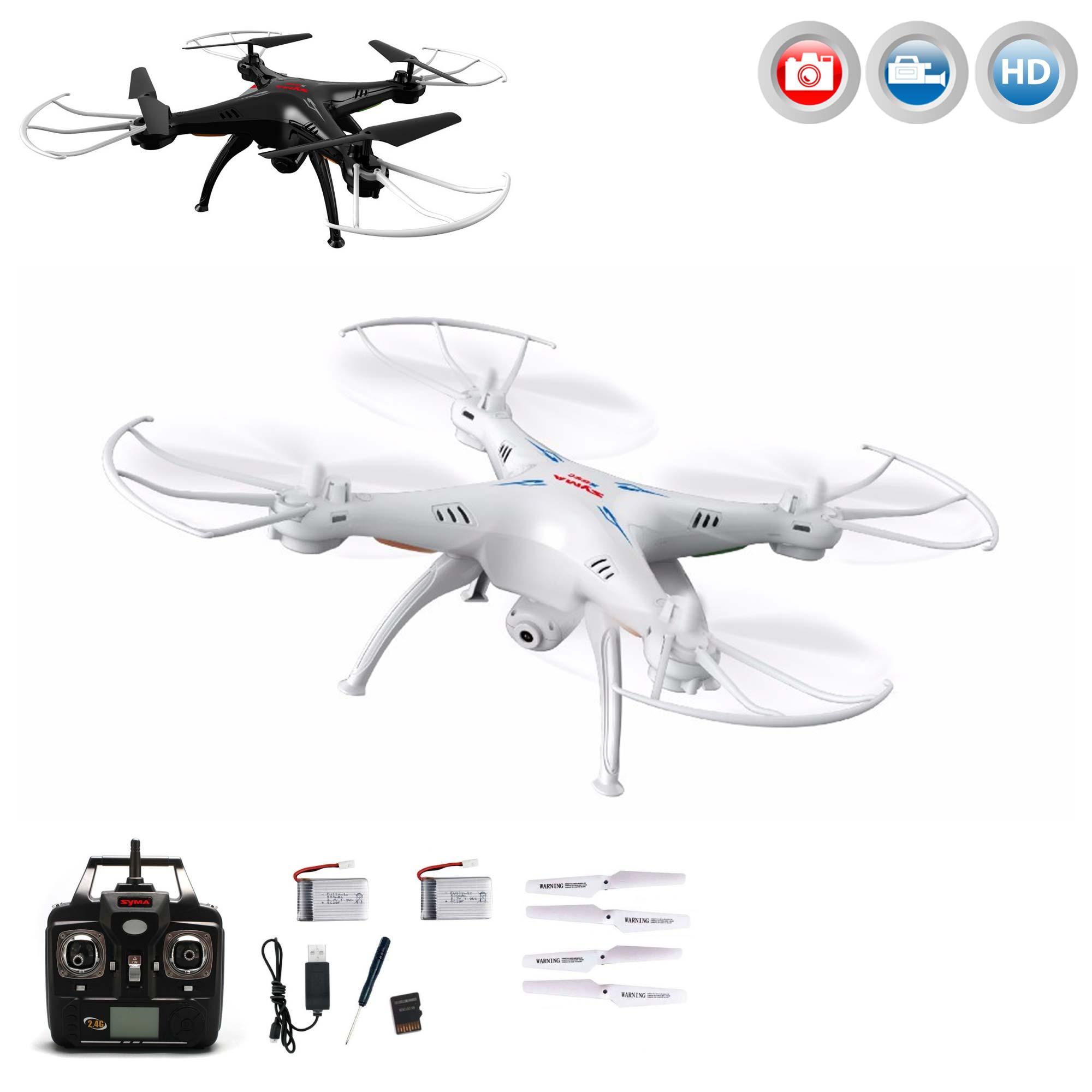 4 5 kanal rc ferngesteuerter quadcopter x5sc 1 mit kamera. Black Bedroom Furniture Sets. Home Design Ideas
